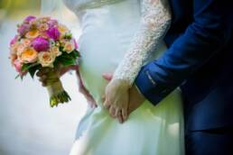 Kismama esküvő fotózás jegyespár